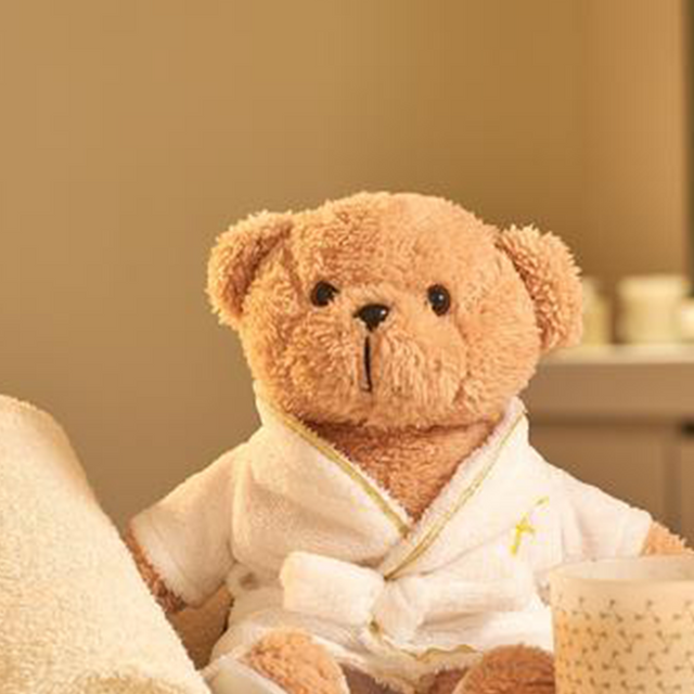 Spa Plush Bear