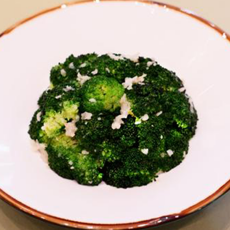 Stir-Fried Broccoli with Minced Garlic