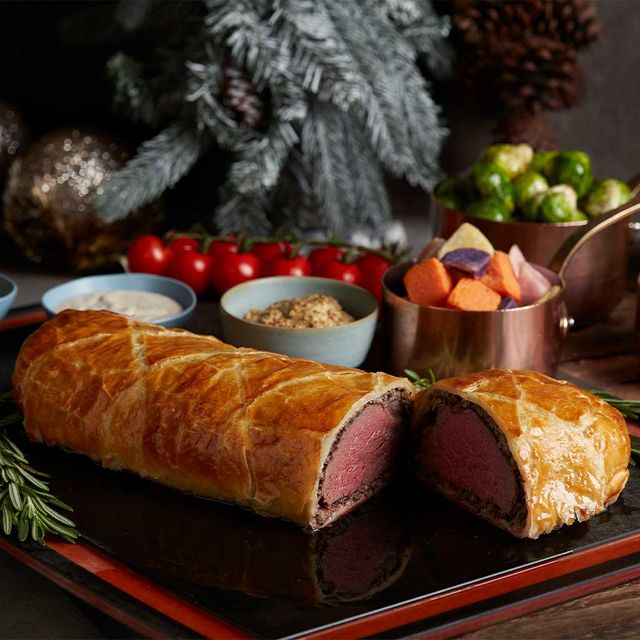 Beef Wellington with Mushroom Duxelle