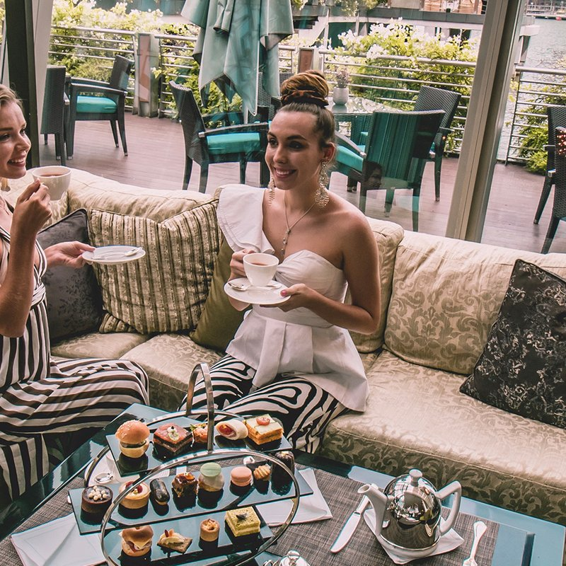 Weekday Afternoon Tea for Two at The Landing Point